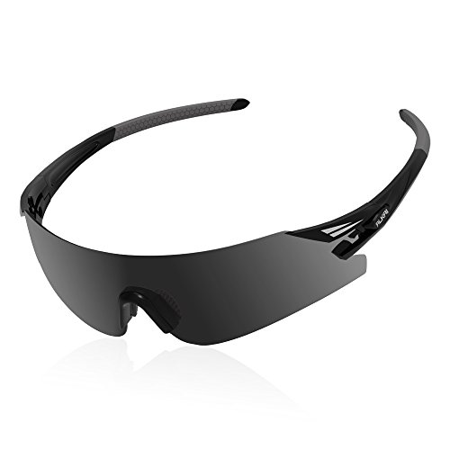 ALKAI Men's WildKiz Cycling Sunglasses, Running Sunglasses, Polarized and 100% UV Protective, Live Wild Series Sports - 100 Means Protection Uv Sunglasses