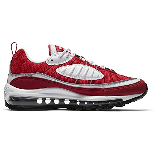 Femme Max Running Black W White 98 Air Red de Chaussures gym NIKE Multicolore Compétition 101 qxwE8HpxZ