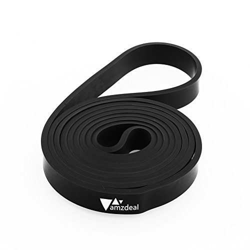 Amzdeal Latex Resistance Bands Exercise Loop for Workout Gyms Yoga Pilates Strength Training