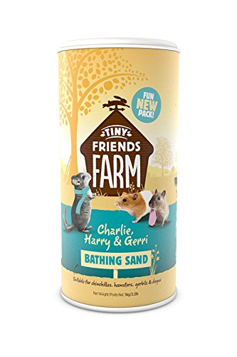 Supreme Tiny Friends Farm Chinchilla Bathing Sand, 52.8 fl. oz.