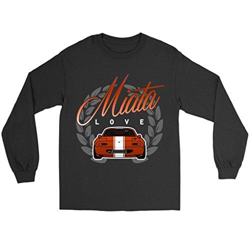Miata Love Mazda JDM Roadster Long Sleeve Shirt (Long Roadster Sleeve)