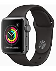 AppleWatch Series3 (GPS, 38mm) - Space Grey Aluminium Case with Black Sport Band