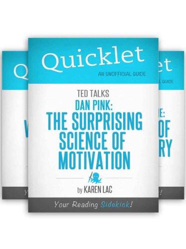 The Ultimate TED Talks Quicklet Bundle - Dan Pink, Dan Gilbert, Chimamanda Adichie