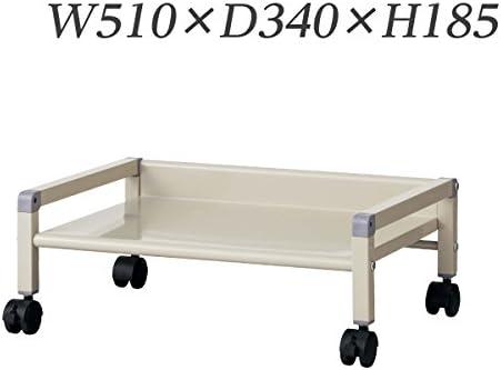 生興 机下台 足元ファイリング 1段タイプ W510×D340×H185 RFW-1
