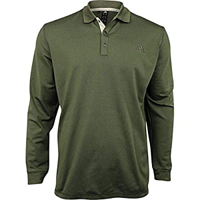 adidas Men's Long Sleeve Thermal Polo: Clothing