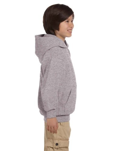 Hanes Youth ComfortBlend EcoSmart Pullover Hoodie_Light Steel_XS