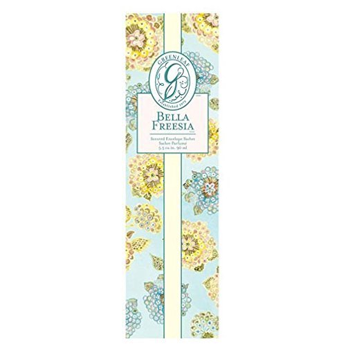 Greenleaf Slim Scented Envelope Sachet Set of 4 - Bella Freesia by Greenleaf Gifts