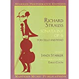 Strauss, Richard - Sonata In F Major, Op. 6, Starker Edition. For Cello and Piano