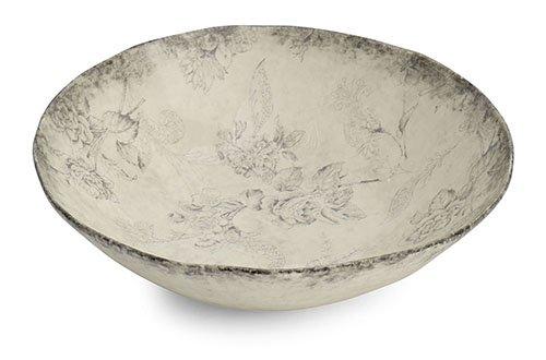Arte Italica Giulietta Serving Bowl, Cream