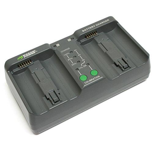 Wasabi Power Dual Battery Charger for Nikon MH-26, MH-26aAK, EN-EL18, EN-EL18a, EN-EL18b (with Adapter for Canon LP-E4, LP-E4N) (Series D500 Battery)