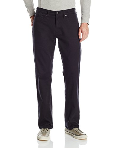 Signature by Levi Strauss & Co Men's Relaxed Jean, Gothic, (Black Label Men Jean)