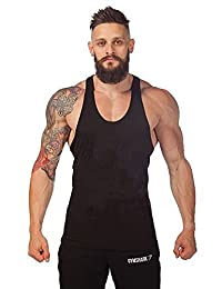 Bestgift Men's Sleeveless Cotton Tank Top