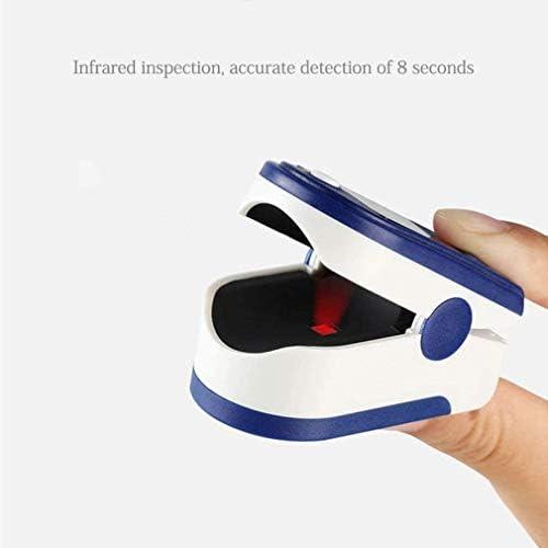 Oxímetro y Pulsómetro para Monitoreo de Saturación de Oxígeno y Latidos por Minuto con Pletismografía Saturación de Oxígeno NEGRO (sin baterias) 6