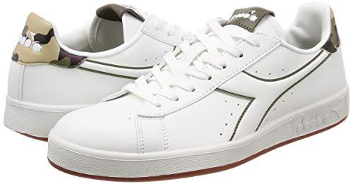 C4600 Verde Oliva Uomo P Bianco Graphic Multicolore Bruciato Sneaker wqpavx