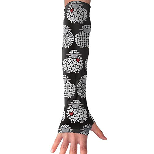 Wool Ewe Be Mine Sheepish Arm Sleeves UV Protection For Men Women Youth Arm Warmers For Cycling Golf Baseball Basketball Mine Arm Warmers
