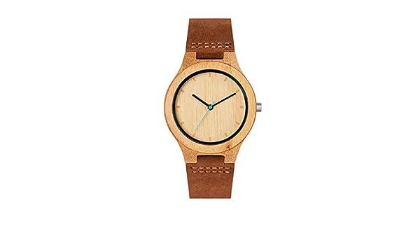 Reloj MAM para Mujer Correa Marron, Esfera Efecto Madera. 600: Amazon.es: Relojes