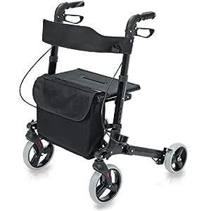 HealthSmart 501-5012-0200 - Andador de ruedas, estilo europeo ...