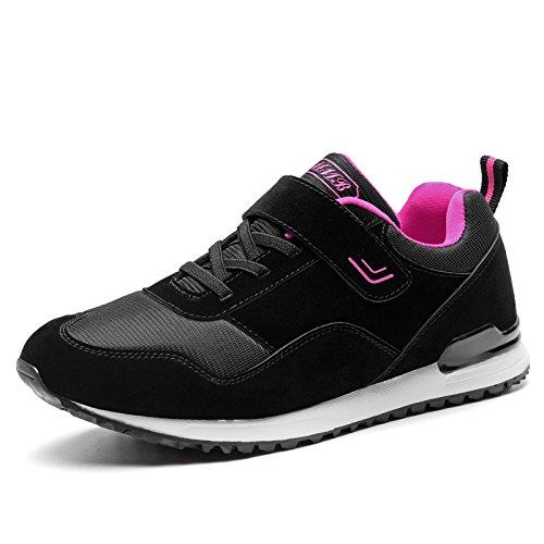 de Primavera de Fondo de y Hasag Zapatos Verano Zapatillas de A1 Zapatos rose Ocio de Madre Antideslizantes Netos Viaje Suave black red Femeninas Zapatos Transpirables xnq84P