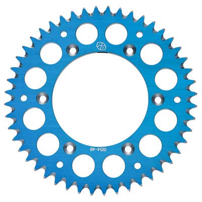 (Primary Drive Rear Aluminum Sprocket 52 Tooth Blue - Fits: Husqvarna FE 450 2016-2019)