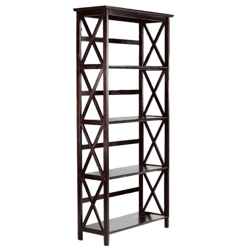 Montego 4 shelf Bookcase, HIGH, - Shopping Store Macy's