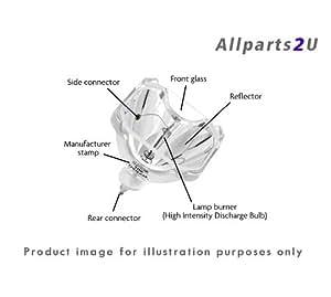 Allparts2u ® Proyector Lámpara 3M 78–6972–0050–5Original bombilla