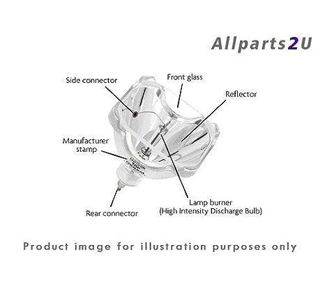 Allparts2u lámpara del proyector OPTOMA GT760 bombilla Original ...