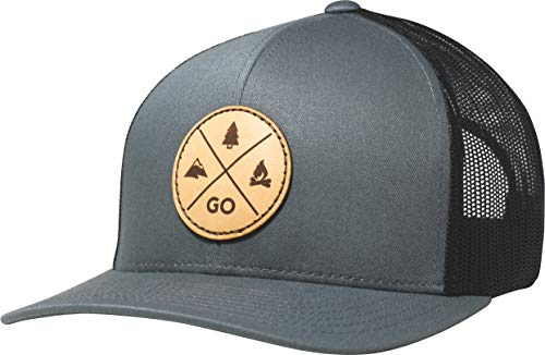 Lindo Trucker Hat - GO Outdoors (Gray/Black)