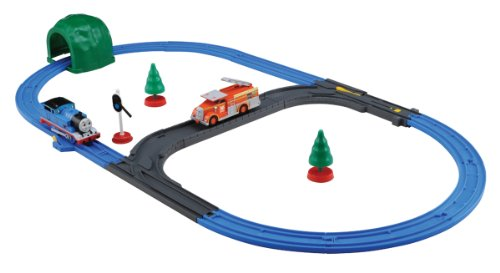 Plarail Thomas: Fire-Engine Flynn & Thomas Set (Model Train) by Takara Tomy