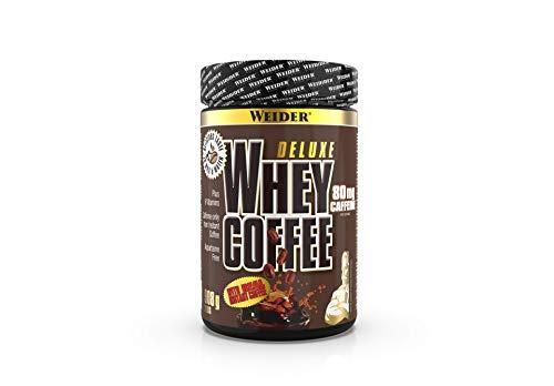 Weider Whey Coffee Protein Shake Eiweißpulver mit echtem Kaffee, 908 g, Fitness