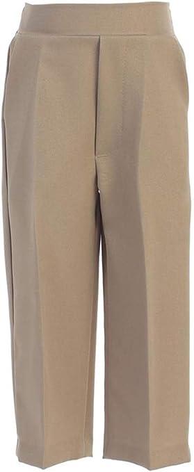LITO Boys Long Pleated Pants Khaki 14