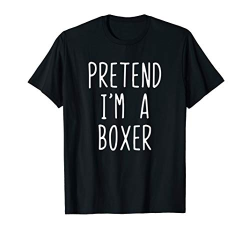 Best Boxer Dog Halloween Costume (Pretend I'm A Boxer Dog Costume Halloween Lazy Easy)