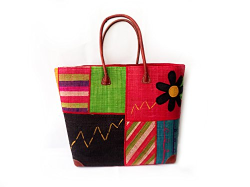 Ibiza Hippie Korbtasche - Strandtasche - Shoppingtasche