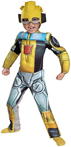 Disguise Bumblebee Rescue Bot Muscle Kids Costume -