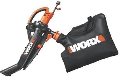 "New Worx Wg505 Trivac 3 In 1 Leaf Electric Blower & Mulcher Vacuum Kit 8381840"""