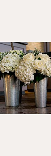galvanized-tin-flower-bucket-with-handle-style-9750-s