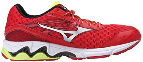 Wave M Inspire 12 Chinese Mens Red Wave m Mizuno 12 Inspire Silver 6nWqXIHBB