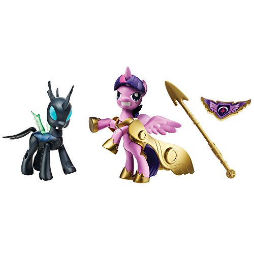My Little Pony Guardians of Harmony Princess Twilight Sparkle and Changeling