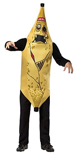 Adult Zombie Banana Costumes (Mens Halloween Costume- Zombie Banana Adult Costume)