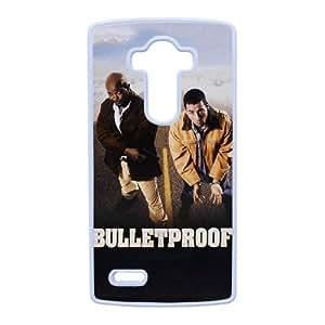 Bulletproof caja del teléfono celular G4 alta resolución Lg cartel funda blanca del teléfono celular Funda Cubierta EEECBCAAH78542