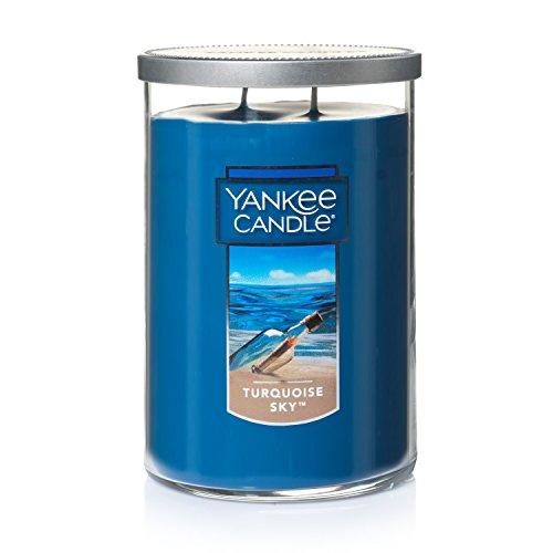 - Yankee Candle Large 2-Wick Tumbler Candle, Turqoise Sky