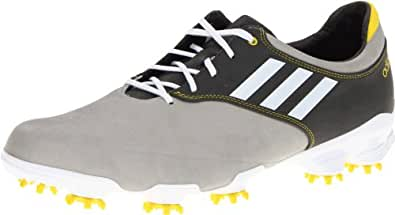 adidas Men's Adizero Tour Golf Shoe,Light Grey/Running White/Graphite,11.5 M US