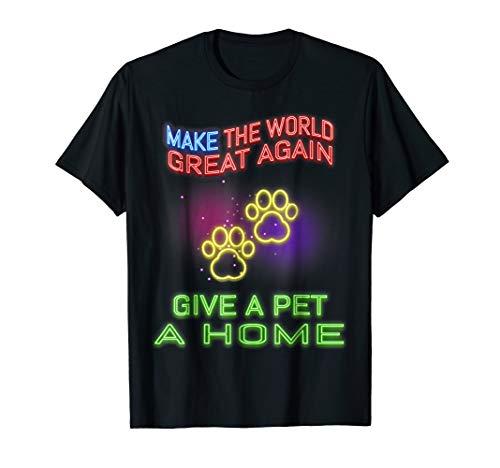 (Funny neon sign retro 80s pet home animal activist)