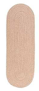 Colonial Mills TE89R024X120 Tremont Braided Tweed Rug, Evergold