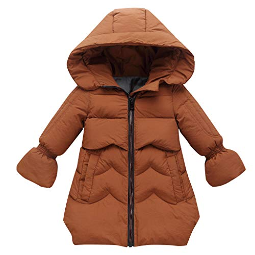 Tronet Baby Winter Coat,Fashion Kids Coat Boys Girls Thick Coat Padded Winter Jacket Clothes Coffee