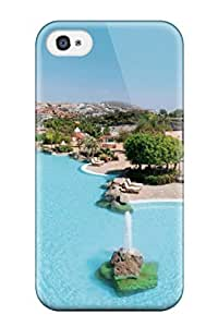 GZDVPMb24638xYxSo Aarooyner Tenerife Holidays Durable Iphone 4/4s PC Flexible Soft Case