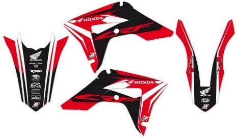 Crf r 450 2017-2020 Blackbird kit adesivi Dream 4 grafiche Honda Crf r 250 2018-2020