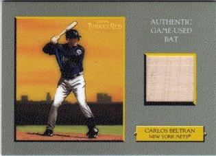 2005 Topps Turkey Red Relics #CB Carlos Beltran Bat Game-Used Memorabilia (Carlos Beltran Bat)