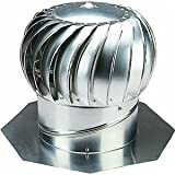 Ventamatic CX12IBALMIL Superior Internally Braced Aluminum Wind Turbine