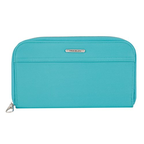 Travelon Tailored Jewelry Case, Aquamarine