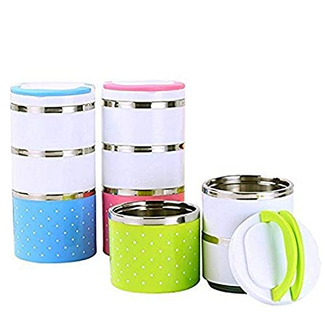 Buy Kavid Lunch Box Picnic Food Container Tiffin Hot Box Vaccum